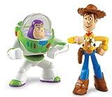 Disney / Pixar Toy Story 3 Action Links Mini Figure Buddy 2-Pack Communicator Buzz Lightyear & Walking Woody