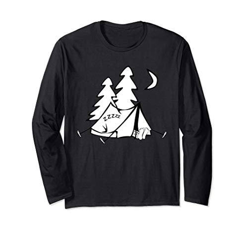 Pijama de tienda de ropa de dormir para acampar Manga Larga