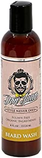 Don Juan Peppermint Grapefruit Beard Wash Infused with All Natural and Organic Herbal Extracts and Oils, 4 Fluid Ounce