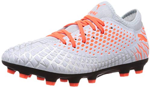 PUMA Future 4.4 HG Men's Soccer Cleats -Silver-10