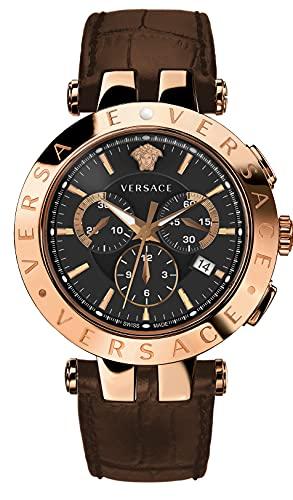 Versace VERQ00320 V-Race Heren horloge 42 mm