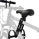 Heroicn Accessori per Biciclette Manubrio per seggiolino per Bambini, seggiolini per Mountain Bike Rimovibili montati frontalmente (Size : Kids Seat+Handlebar)