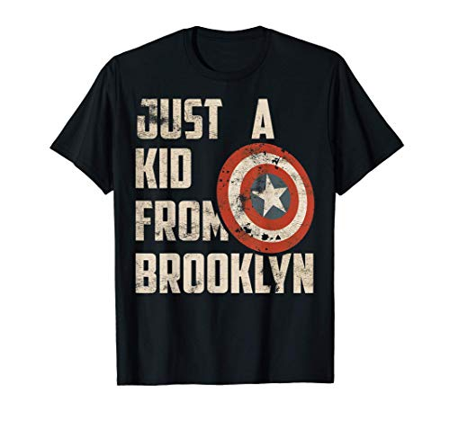 Marvel Captain America Just A Shield From Brooklyn T-Shirt