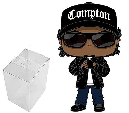 Funko Pop! Rocks: Eazy - E Bundle with 1 PopShield Pop Box Protector