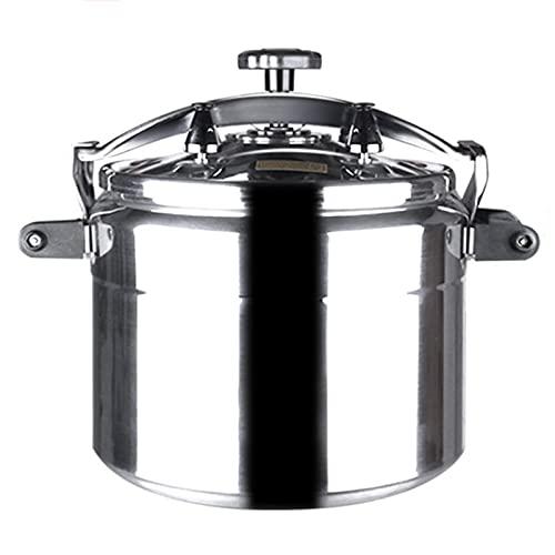 3L-70L Grande Capacità Pentola a Pressione,Antideflagrante Pentole a Pressione in Offerta Casseruola Antiaderente Datto Per Cucina Ristorante,Silver-15L