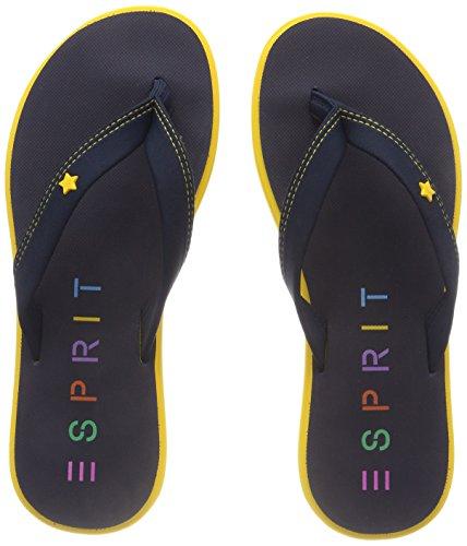 ESPRIT Damen Star Thong Pantoletten, Gelb (Yellow), 39 EU