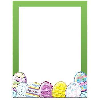 Easter Eggs Letterhead Laser & Inkjet Printer Paper 25 Pack