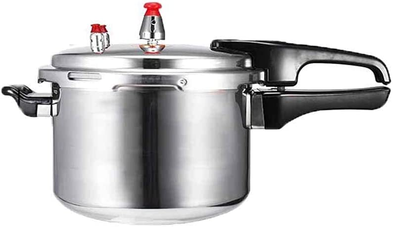 LUNCK Aluminium Alloy Kitchen Pressure Cooker Gas Stove Cooking Energy-saving Safety Protection Outdoor Camping Cookware(20cm)