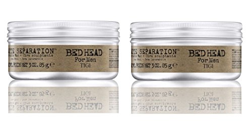 BED HEAD MEN by Tigi MATTE SEPARATION WAX 2.6 OZ ( Package Of 2 ) by Tigi