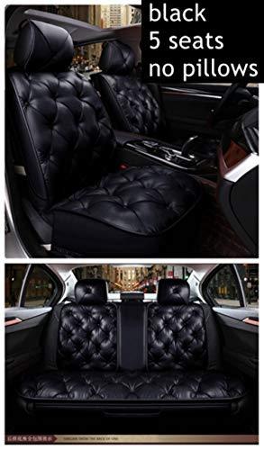 XIARI Coprisedili per Auto Universali per BMW Serie 1 E81 E82 E87 E88 F20 F21 F52 F40 Serie 2 F22 F23 F44 F45 F46 Seggiolini Auto-5 Posti Standard