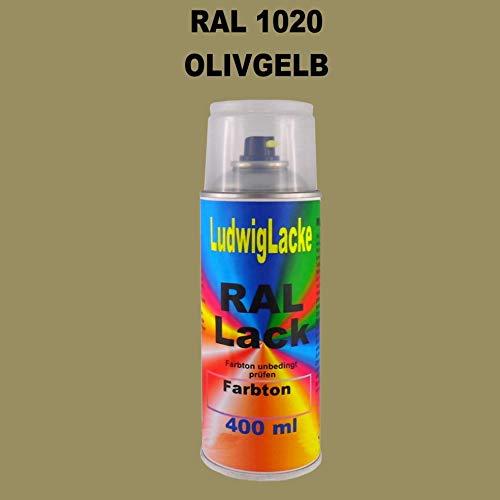 RAL 1020 OLIVGELB Matt 400 ml 1K Spray