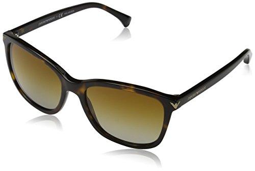 Emporio Armani 5026T5 Gafas de sol, Havana, 56 para Mujer