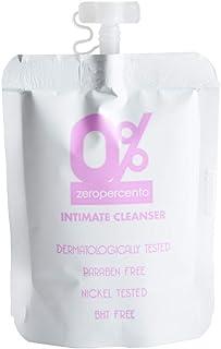 Zeropercento - Igiene intima dermatologicamente testata - ml 20 in bustina DOYPACK - tappo richiudibile - 100% MADE IN ITA...