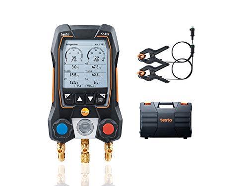 Testo 550s Kit I App Operated Digital Manifold for HVAC and...