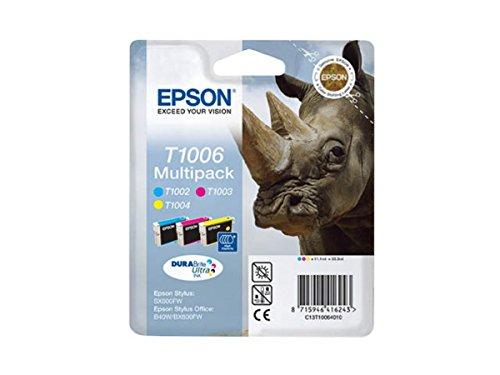 Epson Stylus Office B 1100 (T1006 / C 13 T 10064010) - original - Inkcartridge multi pack (cyan, magenta, yellow)
