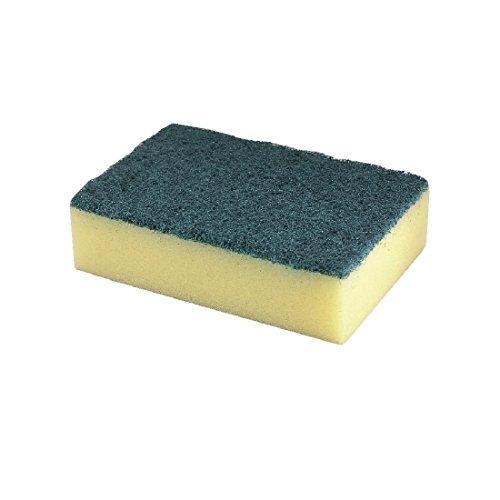 Jantex F960 Sponge Scourer Absorbent with Hardwearing Scourer (Pack of 10)