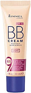 Rimmel BB Cream Beauty Balm 9 In 1-01 Light Beige
