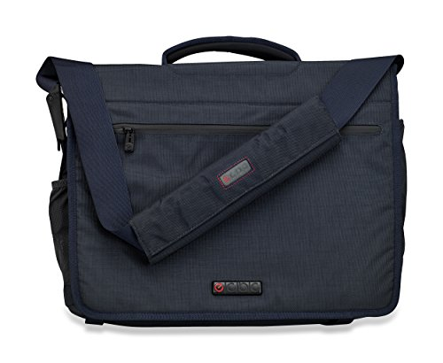 ECBC 18.5 Inch Zeus Messenger Bag Lightweight Business and Travel Messenger Bag