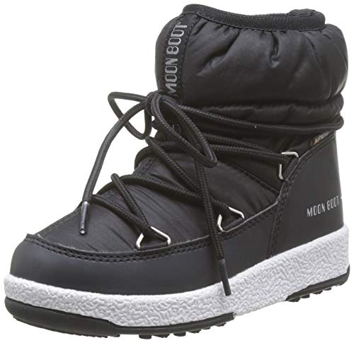 Moon-boot Jr Girl Low Nylon WP, Botas de Nieve para Niños