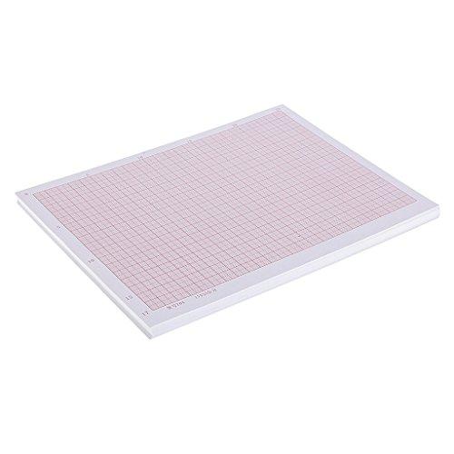 Tubayia Lot de 100 feuilles de papier à dessin pour géométrie et science a4