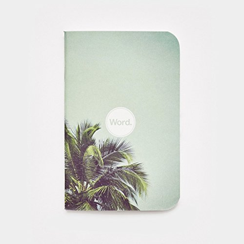 Word. Notebooks - Limited Edition Pocket Notebooks (Palm) Photo #2