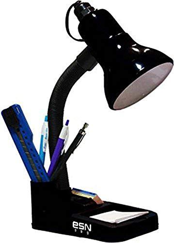 ESN 999 Metal Table Lamp, Black, Pack of 1