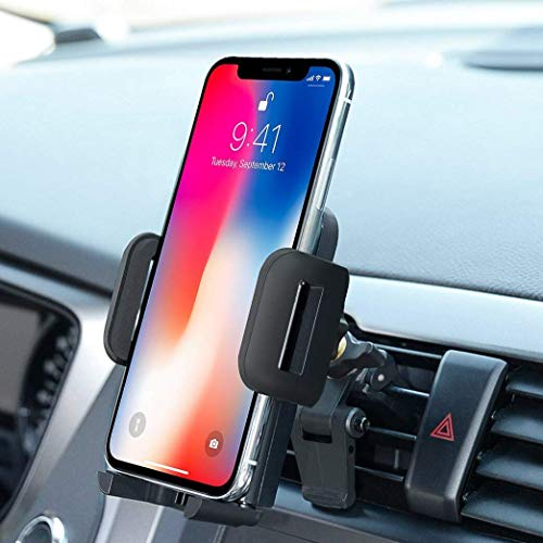 Car Mount,OTEMIK Phone Holder Universal Air Vent Phone Mount,Adjustable 360 Degree Rotation Cellphone Mount One-Button-Release for iPhone XS/XRX/8/7P, Galaxy S6/7 Note 8,HTC LG Huawei,Other Smartphone