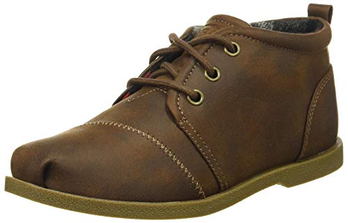 Skechers BOBS Women's Chill Luxe-Drifting Flat, Brown, 9 M US