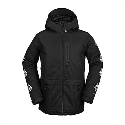 Volcom Men's Deadly Stones Insulated Snowboard Jacket, BLACK, S