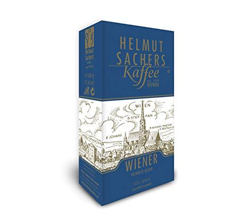 Helmut Sachers Kaffee Wiener Mischung, gemahlen, 500 g 1233