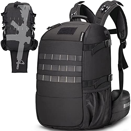HUNTSEN Tactical Backpack Military Training Backpack Army...