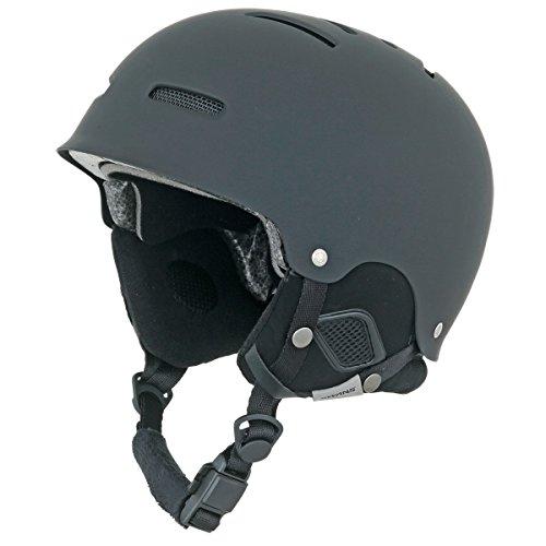 SWANS(スワンズ) スキー スノーボード ヘルメット フリーライドモデル HSF-200M MBK マットブラック