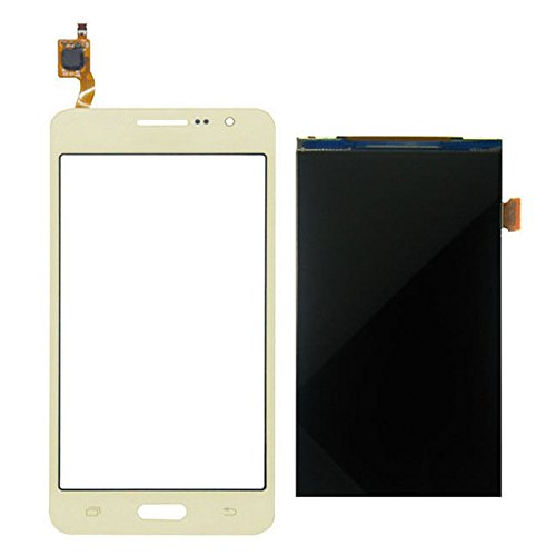 iXuan para Samsung Galaxy Grand Prime VE SM-G531 SM-G531F G531 Pantalla táctil de Vidrio + Pantalla LCD(Dorado)
