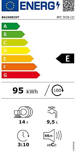 Bauknecht BFC 3C26 Freistehender Geschirrspüler / A++ - 9
