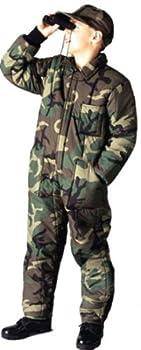 Rothco Boy s Insulated Coverall Camo - Small