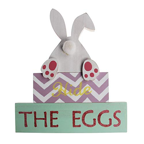 ANEIZANASALI Simpatico Coniglio Coniglietto Nascondi Le Uova Decorazione di Pasqua Ornamento di Nozze di San Valentino
