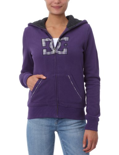 DC Shoes Damen Sweatshirt Salt, Mulberry Purple, L