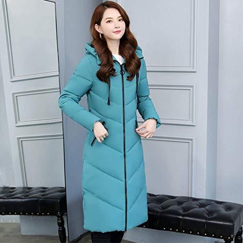 None/Brand Abrigo de invierno extragrande para mujer, con capucha de horno, grueso...