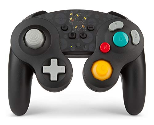 PowerA Pokémon Kabelloser Controller für Nintendo Switch - Gamecube - Umbreon
