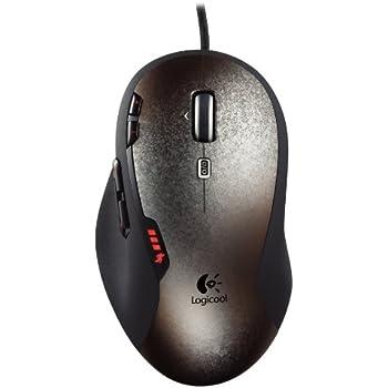 LOGICOOL レーザーマウス ゲーミングマウス 高速スクロール対応ホイール採用 G500