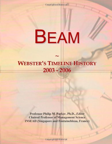 Beam: Webster's Timeline History, 2003 - 2006