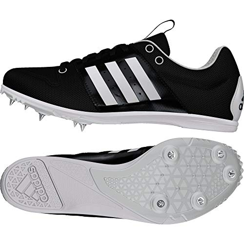 Adidas allroundstar j, Zapatillas de Atletismo Unisex niño, Negro (Negbás/Ftwbla/Ftwbla 000), 33 EU