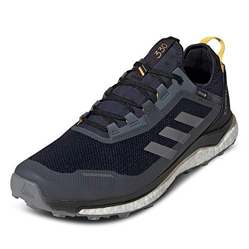 adidas Herren Terrex Agravic Flow Gore-Tex Traillaufschuh, Cblack Gresix Sorang, 42 EU