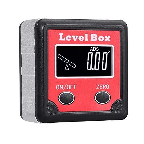Digital Wasserwaage Winkelmesser Winkelmessgerät Angle Finder Neigungsmesser LCD
