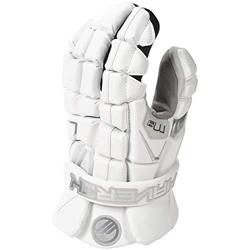 Maverik M4 Lacrosse Gloves White 12 inch