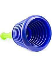 Desatascador ventosa manual grande para desagües, wc, fregadero, ducha o baño. Desatascador fuelle émbolo potente, de Luigi's