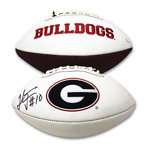 georgia bulldogs autographed - 8