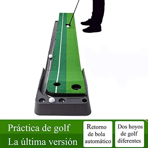 YINGJEE Alfombra de Golf, Alfombra de Putting para Práctica