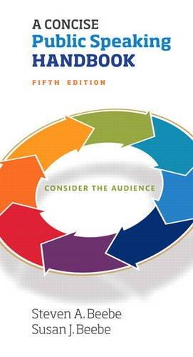 Concise Public Speaking Handbook, A -- Print Offer [Spiral Bound]
