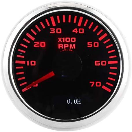 Hoge indicatienauwkeurigheid Uitstekend anticondens Eenvoudig rijden en bedienen Lcdscherm Autotachometer 7000 tpm toerenteller voor motorboten Motorfietsen